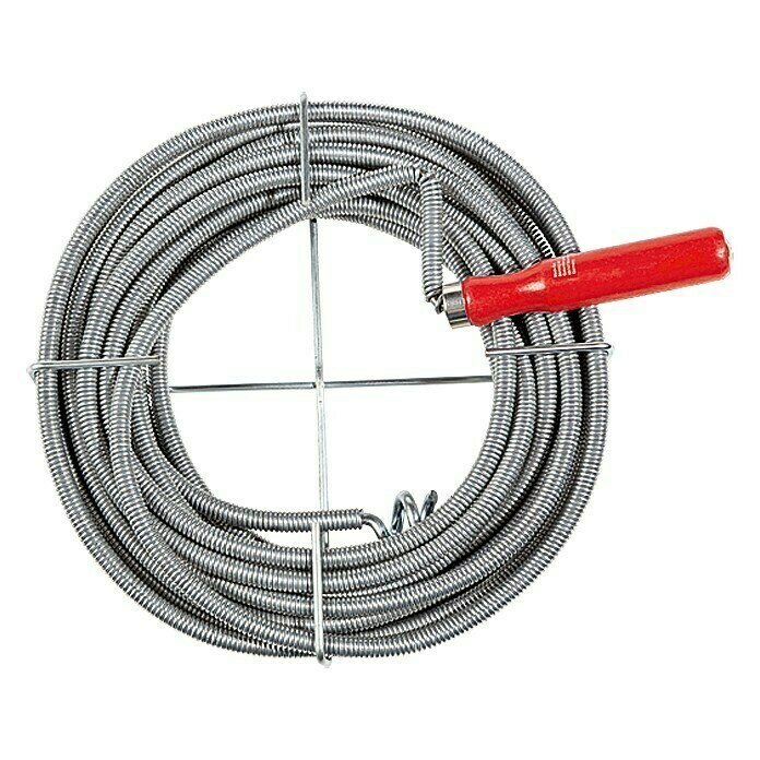 Alpha Tools Ontstoppingsveer (10 m, Diameter: 9 mm)