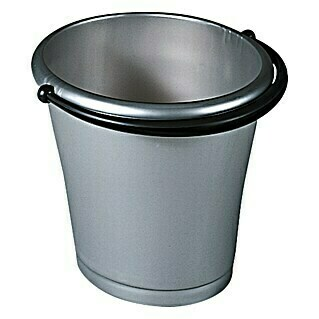 KIS Exclusive Eimer (15 l, Oval, Metall/Anthrazit, Plastik)(15 l, Oval, Metall/Anthrazit, Plastik)