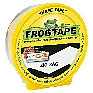 Frogtape Kreativklebeband Shape Tape (Zig-Zag, 22,8 m x 46 mm)