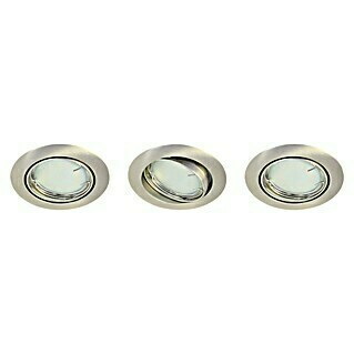 Tween Light LED-Einbauleuchten-Set (Nickel matt, Max. Leistung: 9,6 W, LED)