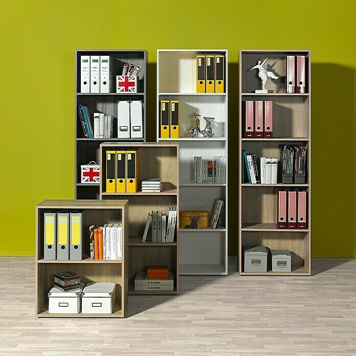 3 in 1 Wandregal Bücherregal Küchenregal Holzregal DIY Tischregal Organizer DHL