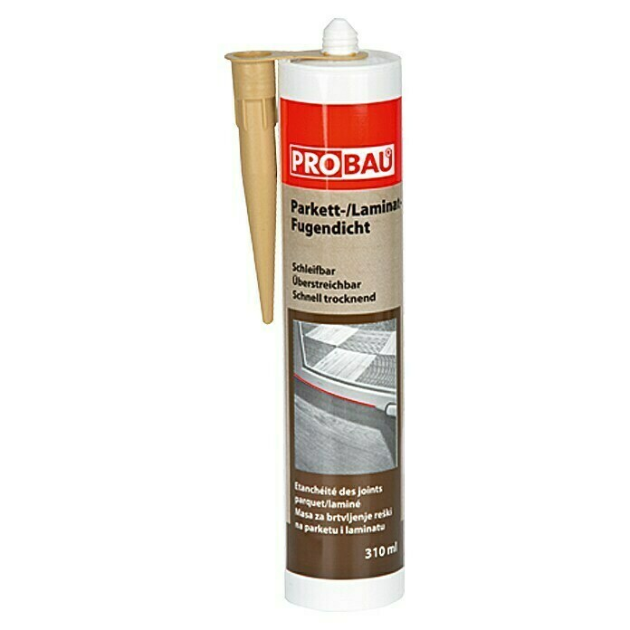 Probau Parkett-Laminat-Fugendicht (Buche, 310 ml) -