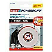 Tesa Powerbond Montagetape Ultra Strong (1,5 m x 19 mm)