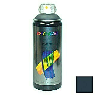 Dupli-Color Platinum Buntlack-Spray platinum RAL 7016 (Anthrazitgrau, 400 ml, Seidenmatt)(Anthrazitgrau, 400 ml, Seidenmatt)