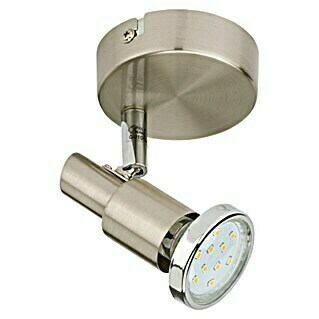 Tween Light LED-Wandstrahler (1-flammig, Max. Leistung: 3 W, Nickel matt, GU10)