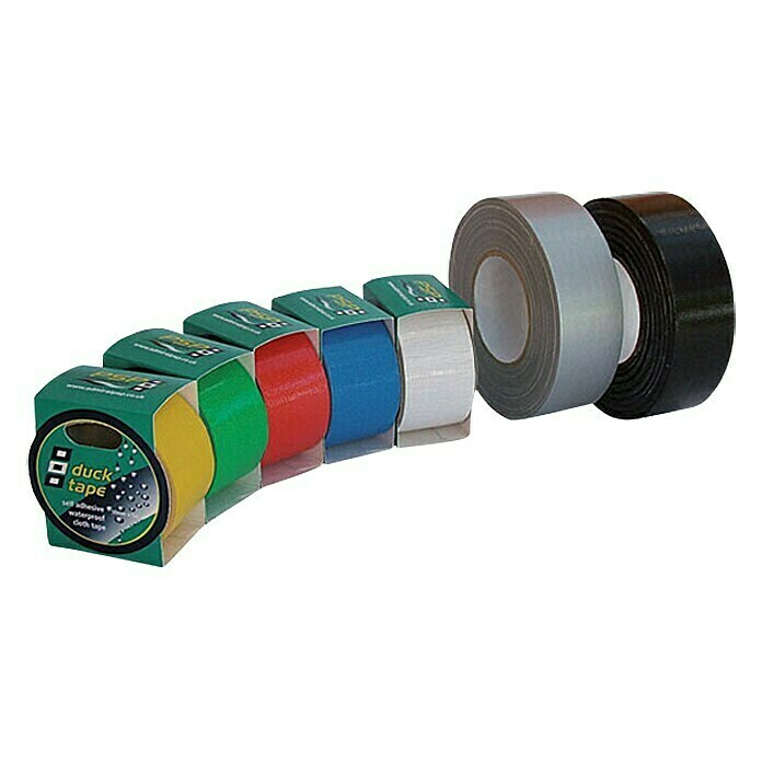 Duck Tape (Weiß, 5 m x 50 mm) - 14404000