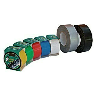 Duck Tape Wit, 5 m x 50 mm (Wit, 5 m x 50 mm)