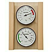 Weka Hygro- & Thermometer-Set (Temperaturbereich Thermometer: 0 °C bis +120 °C, Messbereich Hygrometer: 0 - 100 % r.F.)