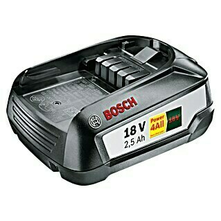 Bosch 18 V Power for All Akku (18 V, 2,5 Ah)