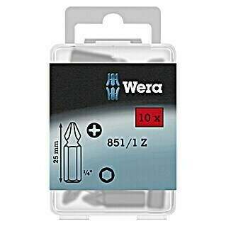 Wera Bit-Box 851/1 (PH 2, 10-tlg.)(PH 2, 10-tlg.)