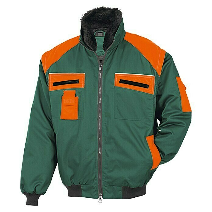 Forstblouson (L, Grün/Orange)