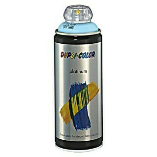 Dupli-Color Platinum Buntlack-Spray platinum (Eisblau, 400 ml, Seidenmatt)(Eisblau, 400 ml, Seidenmatt)