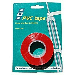 PSP Electrical & Rigging Tape (Rot, 20 m x 19 mm)