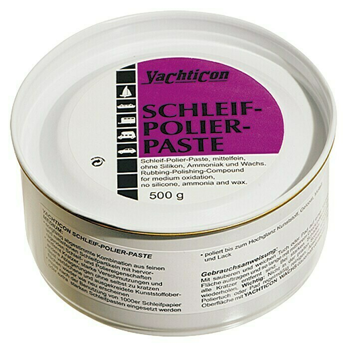 Yachticon Schleif-Polier-Paste (Medium, 500 g)