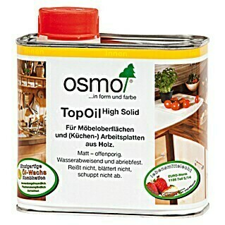 Osmo High Solid TopOil (Natural, 500 ml, Matt)