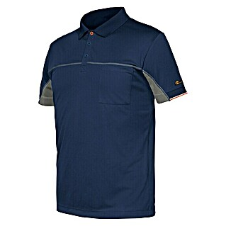 Industrial Starter Stretch Polo Extreme (XL, Azul)(XL, Azul)