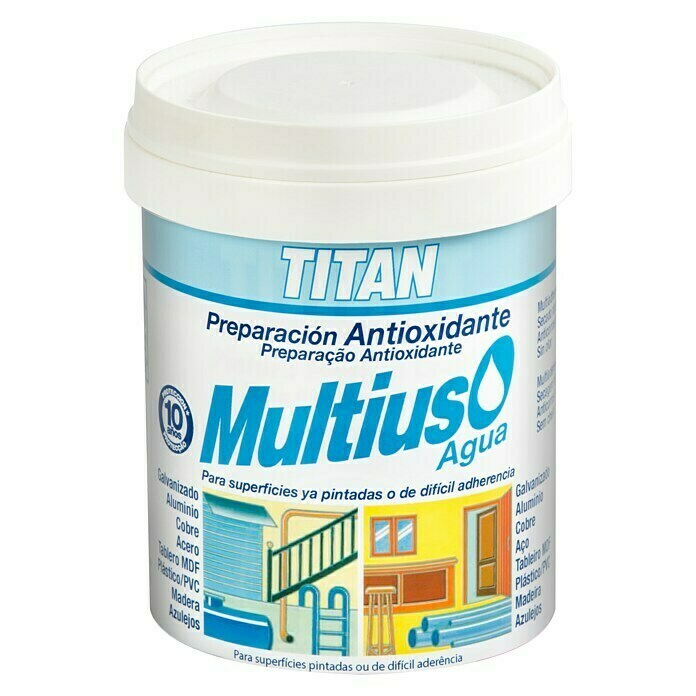 Titan Imprimación Multiuso (Blanco, 750 ml, Mate)