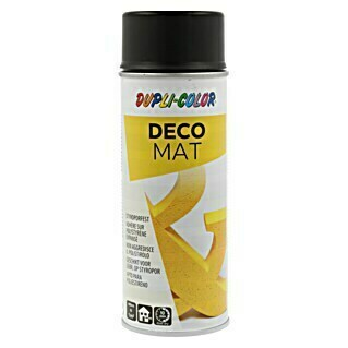 Dupli-Color Deco Mat Acryl-Lackspray (Schwarz, 400 ml, Matt)