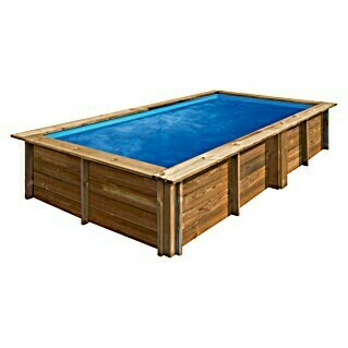 Gre Piscina de madera Lemon (L x An x Al: 375 x 200 x 68 cm, 3,7, Natural)(L x An x Al: 375 x 200 x 68 cm, 3,7, Natural)