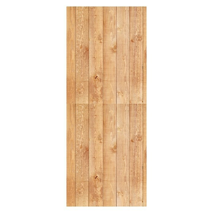 SanDesign Alu-Verbundplatte (100 x 250 cm, Wood Panel) -
