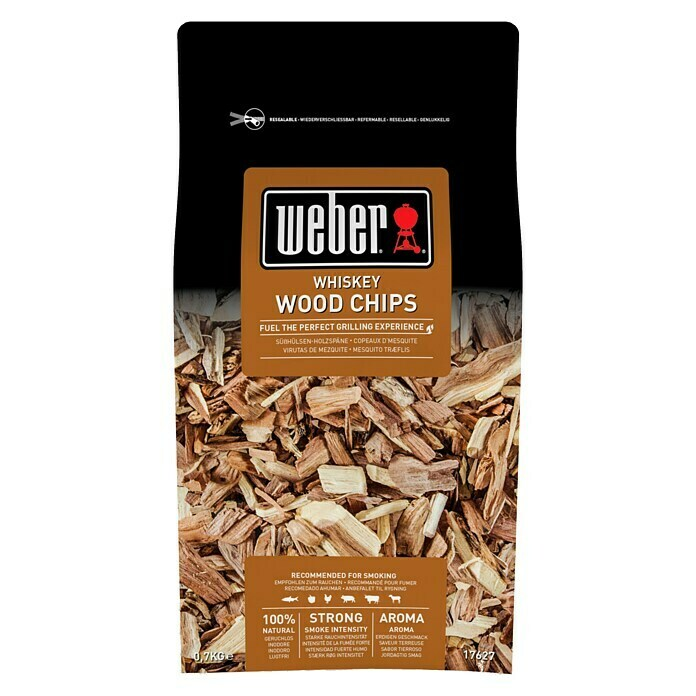 Weber Räucherchips (Whisky, 700 g) -