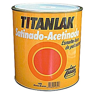 Titan Titanlak Esmalte de poliuretano (Marrón, 125 ml, Satinado)(Marrón, 125 ml, Satinado)