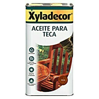 Xyladecor Aceite para teca (750 ml, Honey)(750 ml, Honey)