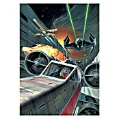 Komar Star Wars Fototapete Death Star Trench Run (200 x 280 cm, Vlies)