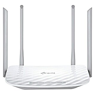TP-Link Router inalámbrico Dualband  AC1200  (Blanco)(Blanco)
