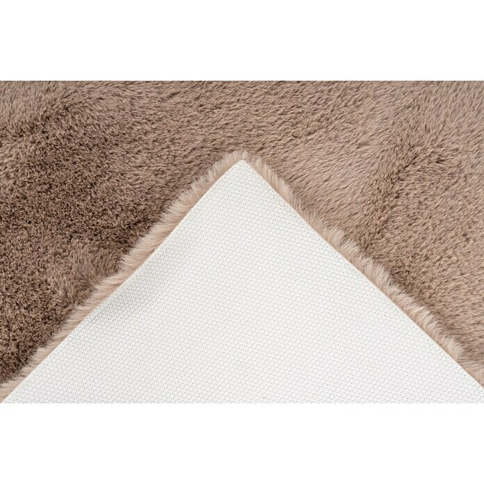 Badteppich Happy (67 x 110 cm, Taupe, 100% Polyester)