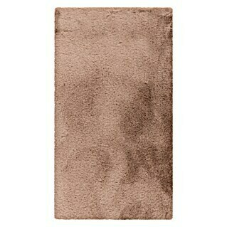 Badteppich Happy (50 x 90 cm, Taupe, 100% Polyester)(50 x 90 cm, Taupe, 100% Polyester)
