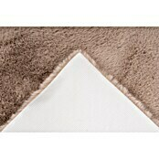 Badteppich Happy (50 x 90 cm, Taupe, 100% Polyester)