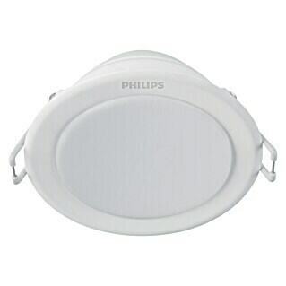 Philips Downlight LED empotrable redondo Meson (3 x 6 W, Color de luz: Blanco neutro, Ø x Al: 9,5 x 4,55 cm, No regulable)(3 x 6 W, Color de luz: Blanco neutro, Ø x Al: 9,5 x 4,55 cm, No regulable)