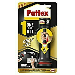 Pattex Montažno ljepilo One for All CLICK & FIX (30 g, Tuba)(30 g, Tuba)