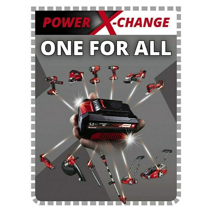 Einhell Power X-Change Akumulatorska svjetiljka (Namijenjeno za: Einhell akumulatore Power X-Change, 2.000 lm)