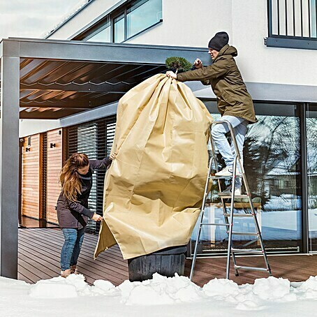 Windhager Winterschutzvlies Superprotect (L x B: 2,4 x 1,9 m, Beige, 140 g/m²)