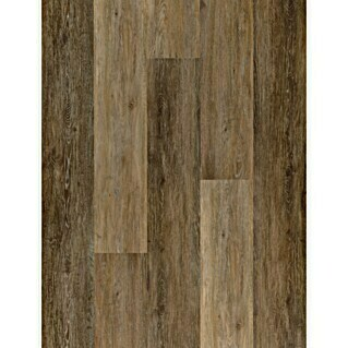 Suelo de vinilo SPC Architect Egyptian Gold (1.220 x 183 x 5,2 mm, Efecto madera)