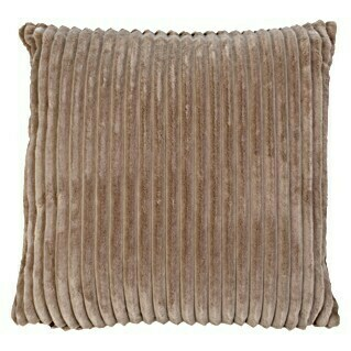 Kissen Cord (Taupe, 50 x 50 cm, 100 % Polyester)(Taupe, 50 x 50 cm, 100 % Polyester)