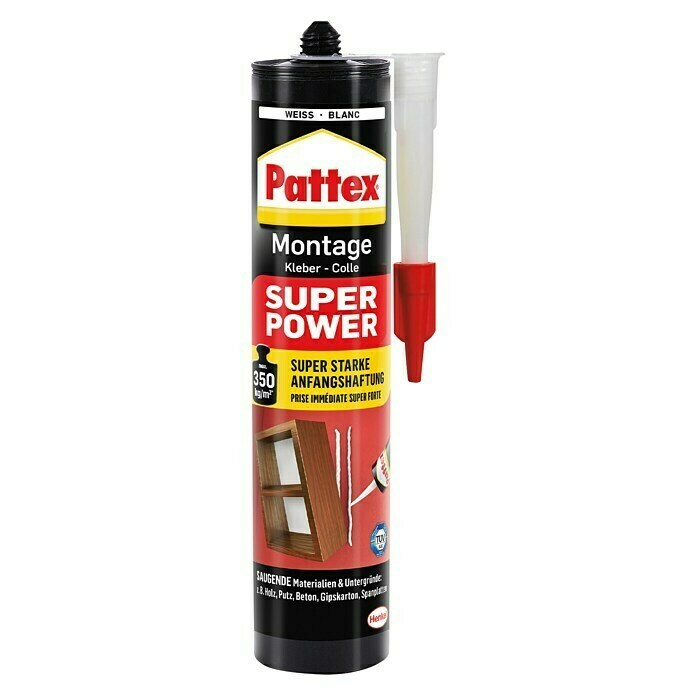Pattex Montagekleber Super Power (370 g, Kartusche) -