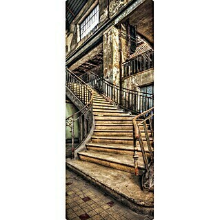 SanDesign Handmuster Lost Place Staircase (17,5 cm x 7 cm x 8 mm, Landschaft & Stadt)(17,5 cm x 7 cm x 8 mm, Landschaft & Stadt)
