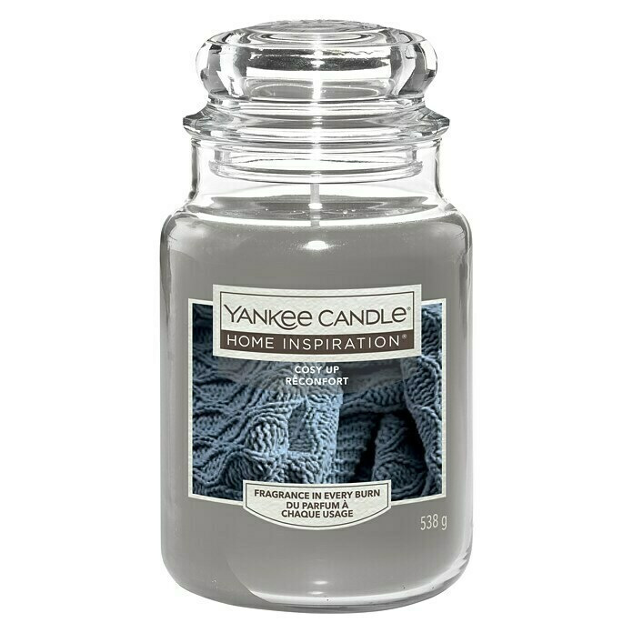 Yankee Candle Home Inspirations Duftkerze (Im Glas, Cosy Up, Large)
