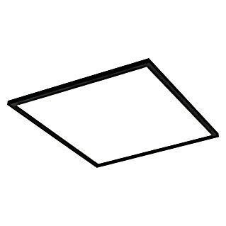 Eglo Connect LED-Panel Salobrena-C (34 W, Schwarz, L x B x H: 59,5 x 59,5 x 5 cm)