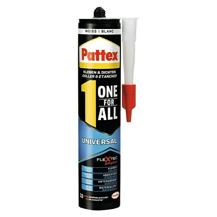 Pattex Montagekleber One for All (420 g, Weiß) - PXFIW