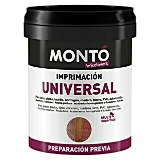 Montó Bricolovers Imprimación universal (Blanco, 750 ml, Mate)(Blanco, 750 ml, Mate)