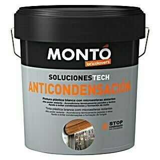 Montó Bricolovers Pintura termoaislante Anticondensación (Blanco, Mate, 4 l)