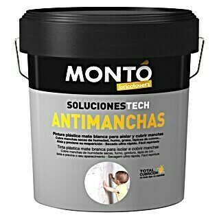Montó Bricolovers Pintura Antimanchas  (Blanco, 4 l, Mate)