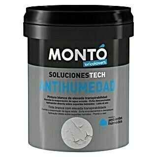 Montó Bricolovers Pintura antihumedad (Blanco, 750 ml, Mate)(Blanco, 750 ml, Mate)
