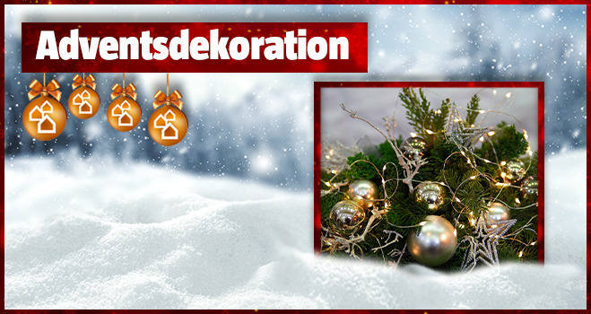 Adventsdekoration