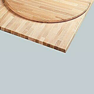Do it wood Encimera de madera maciza (120 cm x 80 cm x 28 mm, Haya)(120 cm x 80 cm x 28 mm, Haya)