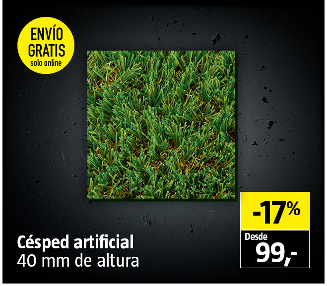 Black Friday - Césped artifical